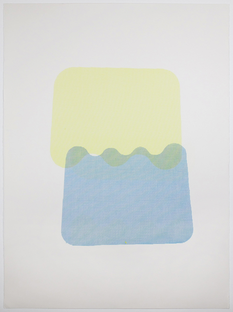 , 'Blue & Yellow,' 2014, Inman Gallery