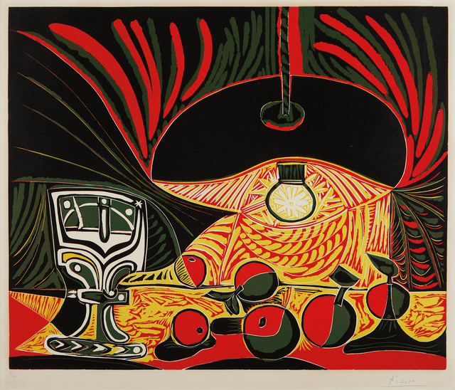 Pablo Picasso, 'Nature morte au verre sous la lampe (Still Life with Glass under the Lamp)', 1962, Phillips