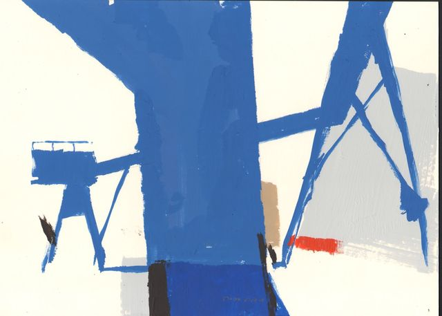 , 'Kings Lynn Docks 5,' 2018, Beardsmore Gallery