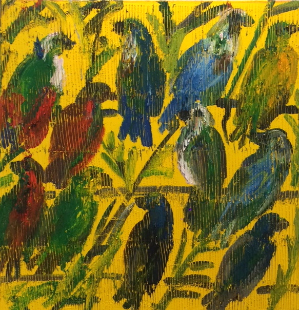 , 'Fruit Doves,' , Russell Collection