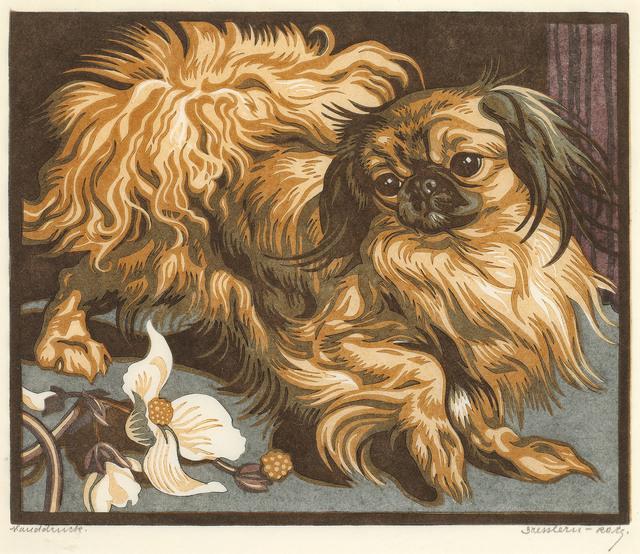 Norbertine Bresslern-Roth, 'Pekinese', 1931, Galerie Kovacek & Zetter