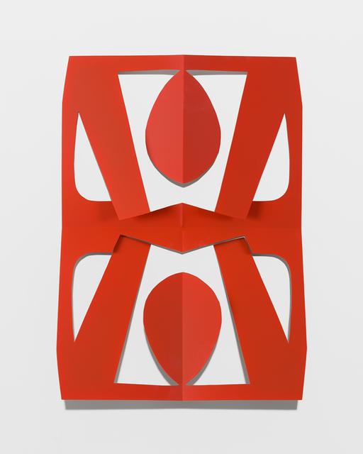 , 'Cutout (Rorange),' 2016, Altman Siegel