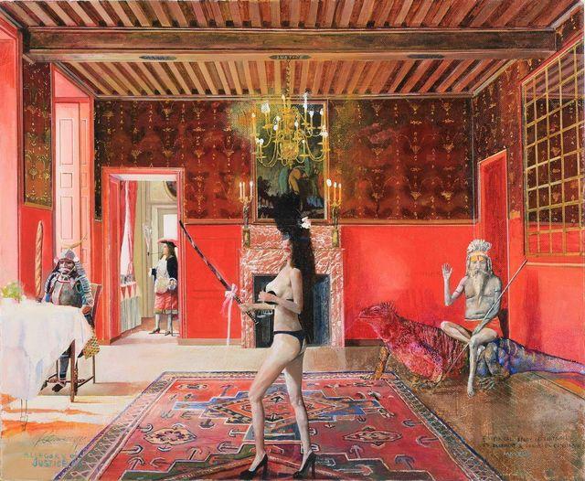Konstantin Bessmertny, 'Allegory of Justice No. V', 2012-2014, 10 Chancery Lane Gallery