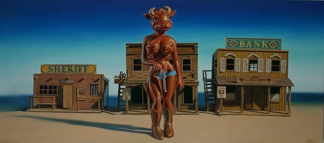 , 'Cowtown Cathy,' 2006, Eternity Gallery