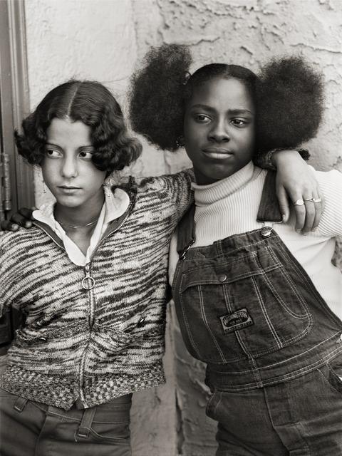 , 'Jacqueline Santiago and Cathy Lindsey, Bushwick, Brooklyn, New York,' ca. 1975, Arnika Dawkins Gallery