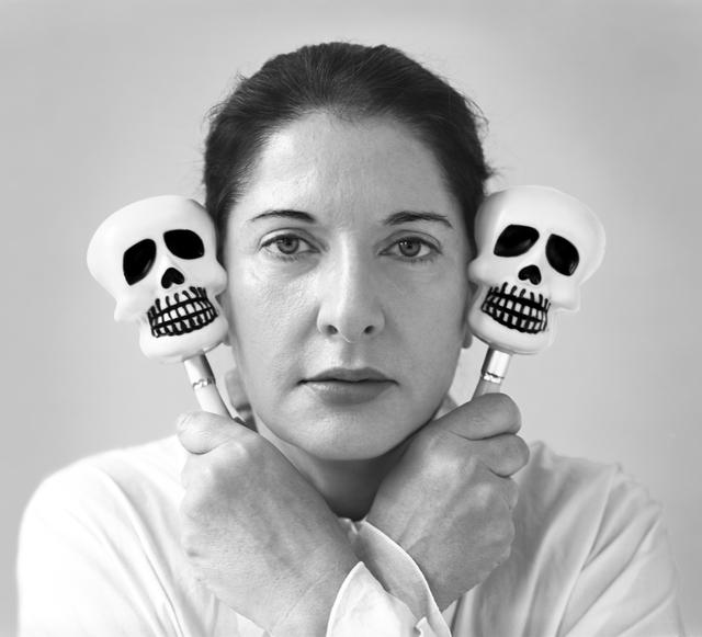 , 'Portrait with Maracas,' 2006, Galerie Krinzinger