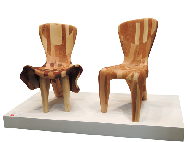 , 'The Chairs are in Love,' 2016, Rimonim Art Gallery