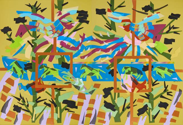 , 'Mirror II Fengtian Temple,' 2019, Liang Gallery