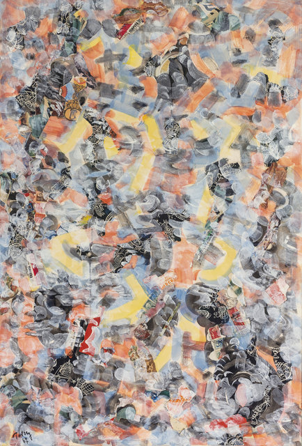 Mark Tobey, 'Hidden Sphere', 1967, Drawing, Collage or other Work on Paper, Collage on paper, Jeanne Bucher Jaeger