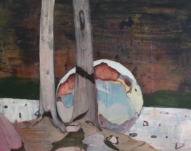 , 'Fallen Stone,' 2016, MadeIn Gallery