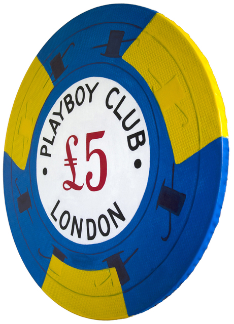, 'Playboy Club London-Giant Casino Chip,' 2017, SPiN Galleries