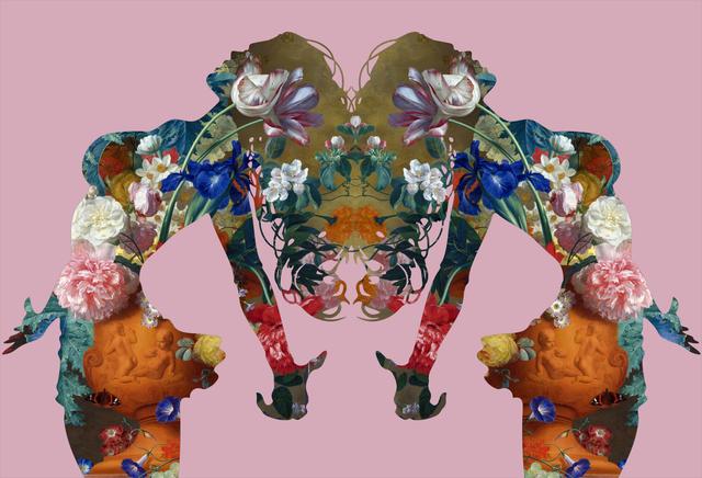 Agent X, 'Mater Natura (Pink)', 2018, Gitana Rosa Gallery