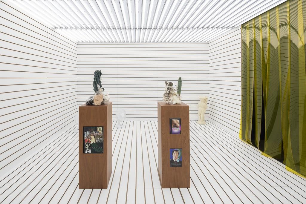 Jonah Freeman & Justin Lowe, 'Scenario in the Shade', 2018. Installation view, Kunsthal Charlottenborg. Photo by Anders Sune Berg.