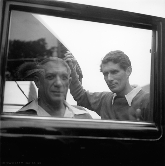 , 'Picasso and Roland Penrose in Mougins, France, ,' 1937, °CLAIR Galerie