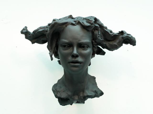 , 'Woman's Head – Horizontal Hair,' 2017, Maria Elena Kravetz