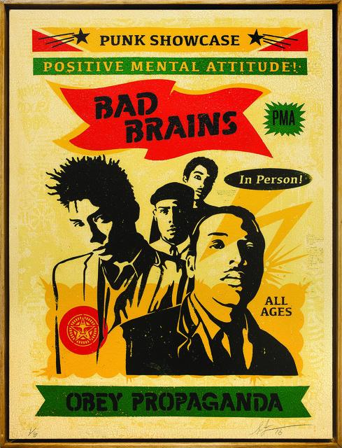 , 'Bad Brains Punk Showcase,' 2016, Underdogs Gallery