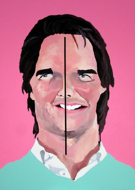 ", '""Tom Cruise says symmetry is for pussies."" - Tom Cruise,' 2015, Ro2 Art"