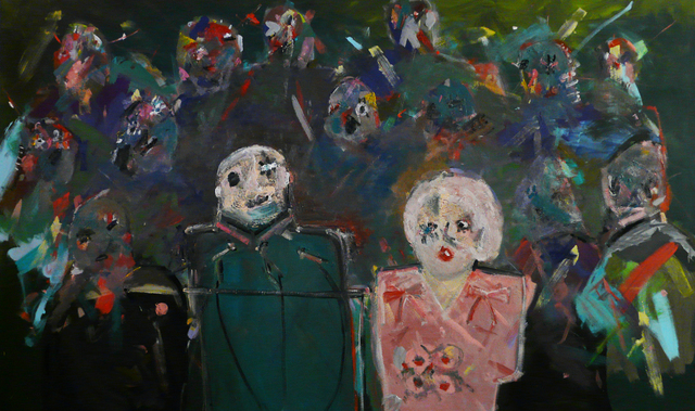 Carla Busuttil, 'The First Movers', 2012, Painting, Oil on canvas, Goodman Gallery