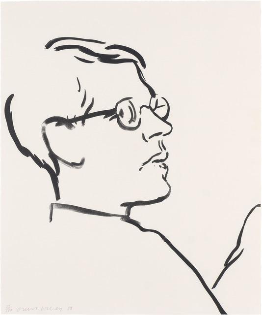 David Hockney, 'James (Gemini G.E.L. 922; M.C.A.T. 243)', 1980, Doyle
