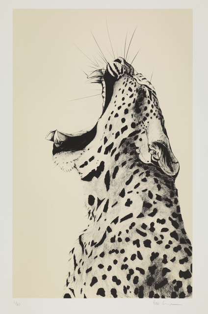 , 'Leopard Sound on Cream Silkscreen,' , Sladmore