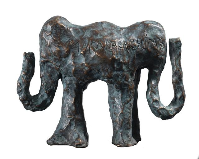 Jorge Zeno, 'Makaracachimba - green patina ', 2019, Sculpture, Bronze, Biaggi & Faure Fine Art