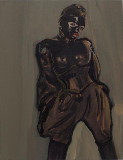 Claire Tabouret, 'La combinaison noire', 2015, Painting, Acrylic on canvas, Phillips