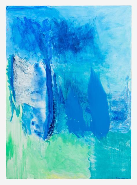 , 'Blue Flag,' 2014, Tayloe Piggott Gallery