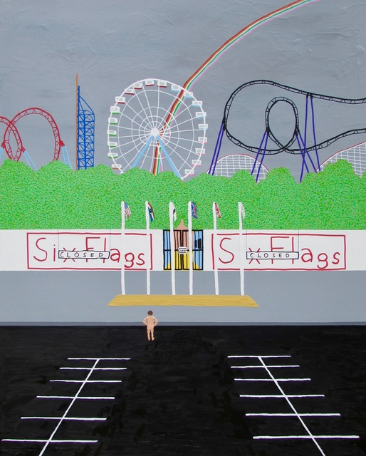 , 'I went to Six Flags for my birthday but they were closed,' 2017, Zeitgeist