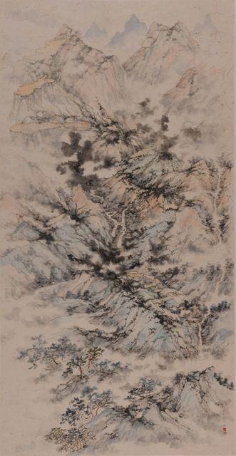 , 'Landscape After Huang Gongwang [2014.07],' 2014, NanHai Art