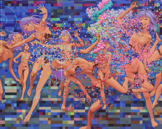 , 'Jumble of 100 Flowers,' 2012-2017, Mizuma Art Gallery