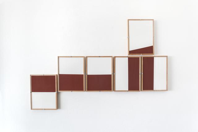 , 'Red Composition No.11,' 2017, Casa Triângulo
