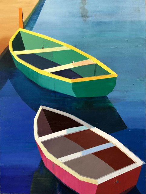 , 'Colorful Boats in the Bay #12,' 2017, Caldwell Snyder Gallery