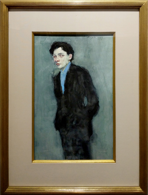 Malcolm T. Liepke, 'Man in Blue Suit', 1999, ARCADIA CONTEMPORARY