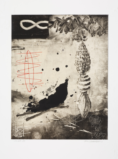 , 'Trace Series Monotype No. 107,' 2007, Seager Gray Gallery