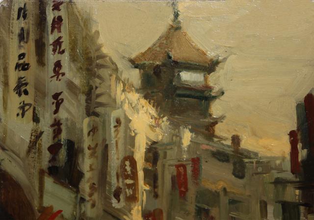 Milt Kobayashi, 'Japanese Street Scene', 1985-1999, EastCoastArt