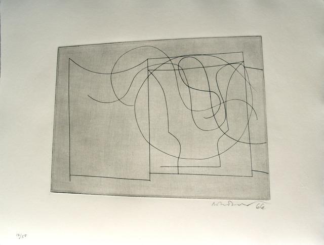 , 'flowing forms,' 1967, Bernard Jacobson Gallery