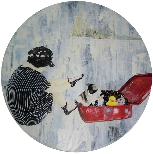 , 'Getting Closer-Alice and her cat II,' 2014, GALERIE OVO