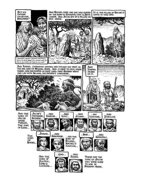 , 'The Book of Genesis Illustrated by R. Crumb,' 2009, Seattle Art Museum