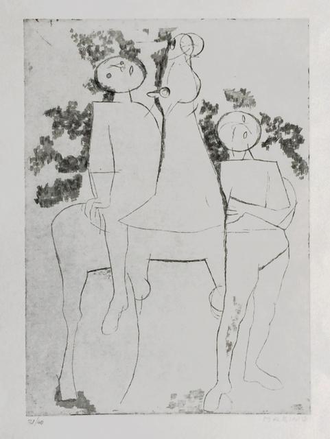 , 'Contemplativi,' 1970, Han Art