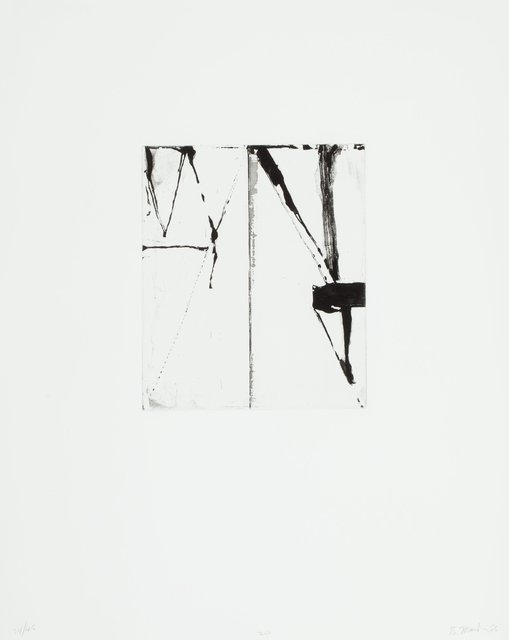 Brice Marden, 'Etchings to Rexroth, 20', 1986, Heritage Auctions