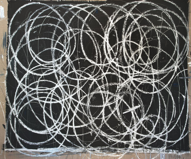 Briggs Edward Solomon, 'Black with Many White Swirls', 2014, ArtStar