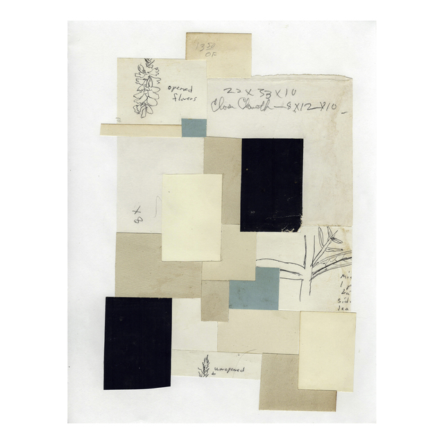 Jim Rose, 'Opened, Unopened, Close', 2010, Drawing, Collage or other Work on Paper, Vintage paper, found drawings on paper, Gallery Victor Armendariz