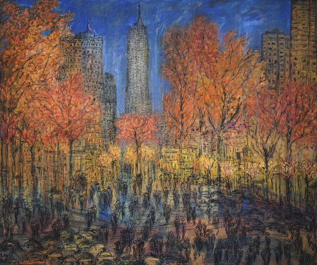 , 'New York New York Opus 777,' 2017, Walter Wickiser Gallery
