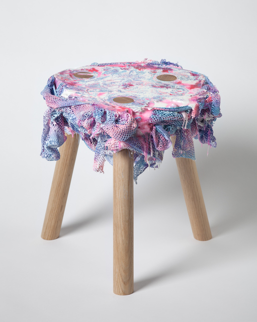 , 'Network (stool),' 2011, Museum of Arts and Design