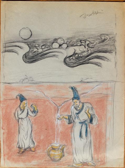 Pei Zhuangxin, 'Sketch ⼿稿《靜態的圖像》', 2012, W.Ming Art