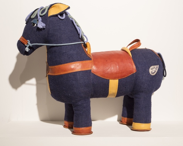 , 'Therapeutic Toy Magic Horse in blue, designed and made by Renate Müller,' 2015, R & Company