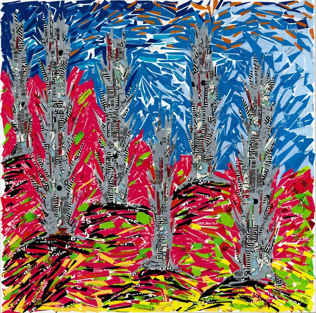 , 'Landscape with Six Trees,' , Undercurrent Projects