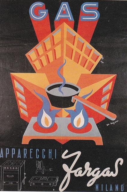 , 'Gas apparecchi Fargas,' 1947, Triennale Design Museum