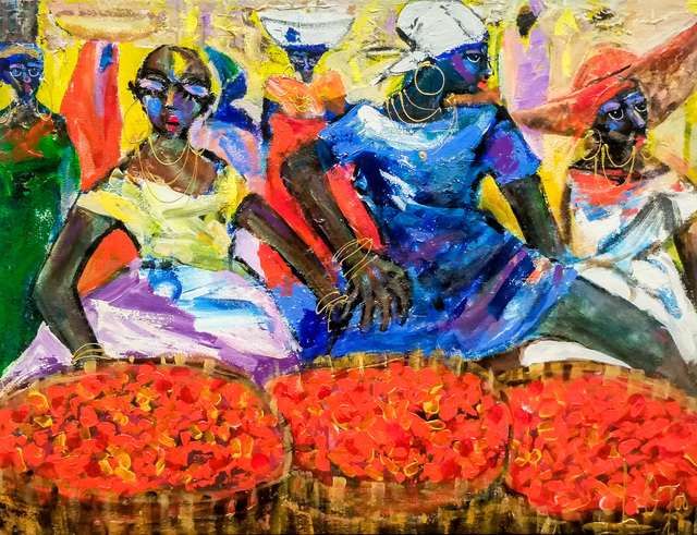 , 'Palm Fruit Sellers ,' 2017, Out of Africa Gallery