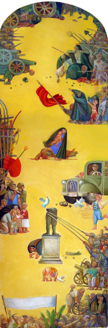 , 'Uprising of 1948,' 1978, Meem Gallery